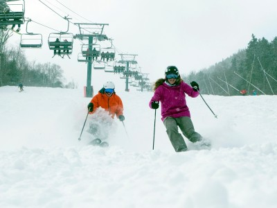 School Ski Trip Resort Focus: Loon, New Hampshire, USA